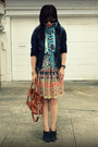Dvf-scarf-anthropologie-skirt-h-m-top