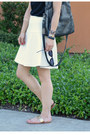 Foley-corinna-bag-white-banana-republic-skirt-black-random-t-shirt