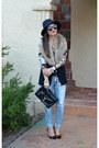 Ripped-ross-jeans-prabal-gurung-x-target-shirt-faux-fur-h-m-scarf