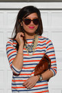 Stripe-zara-kids-t-shirt-forever-21-jeans-clare-vivier-bag