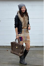 Hunter-boots-marni-for-h-m-dress-h-m-hat-unknown-brand-jacket