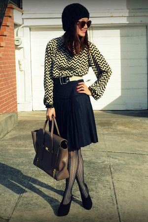 BCBG skirt - everly dress - Club Monaco belt