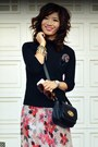 Vintage-dvf-dress-gap-sweater-cynthia-rowley-for-target-bag