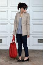 structured Maison Martin Margiela for H&M jacket - Forever 21 jeans