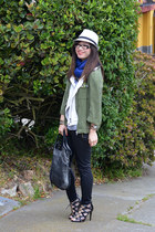 moto Zara vest - H&M Conscious Collection jacket - foley & corinna bag