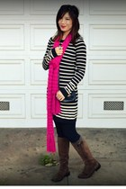 Old Navy scarf - f21 dress
