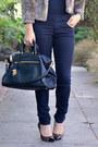 Thrifted-jacket-forever-21-jeans-forever-21-hat-leopard-loft-heels