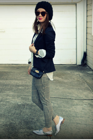 H&amp;M pants - H&amp;M blazer - H&amp;M shirt - Zara loafers