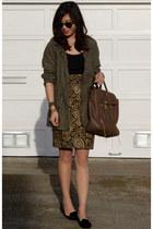 Zara jacket - 31 Phillip Lim bag - JW Anderson x Topshop skirt - Zara flats