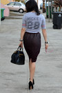 H-m-skirt-prada-bag-mickey-forever-21-t-shirt-max-studio-heels