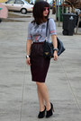 Prada-bag-mickey-forever-21-t-shirt-h-m-skirt-max-studio-heels