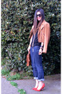 Banana-republic-jeans-suede-madewell-jacket-vintage-coach-bag