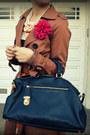 H-m-dress-h-m-jacket-prada-bag-max-studio-heels