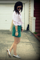 Zara skirt - Zara shoes - H&M Kids shirt