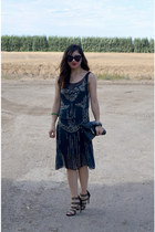 H&M Paris Collection dress - Betsey Johnson bag - Sole Society heels