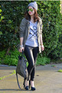 Zoe-karssen-t-shirt-theyskens-theory-shoes-h-m-hat-zara-jacket