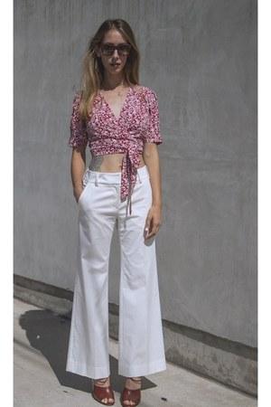 Celine sunglasses - missoni vintage pants - bow maison martin margiela heels