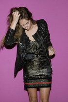 Celine boots - vintage dress - kady Isabel Marant jacket