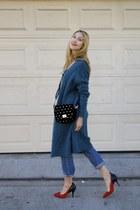 mohair Acne Studios sweater - boyfriend Acne Studios jeans - Isabel Marant pumps