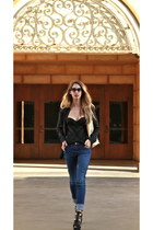 Agent Provocateur intimate - acne jeans - lucia Super sunglasses