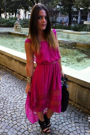 magenta BaBassu dress