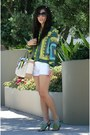 Zara-shirt-reed-krakoff-bag-abercrombie-shorts-chanel-sunglasses