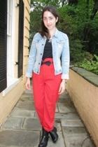 vintage pants - vintage accessories