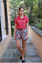 Marc by Marc Jacobs shirt - Topshop shorts