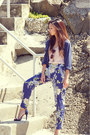Navy-floral-persunmall-pants-black-leopard-print-charlotte-russe-sunglasses