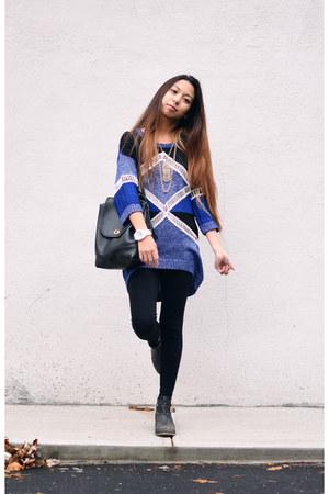 blue Dex jumper