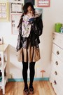Dark-brown-loafers-libby-edelman-shoes-black-leather-jacket-no-brand-jacket-