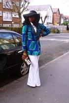 flare DKNY pants - african print CJAJ09 jacket - CJAJ09 bag