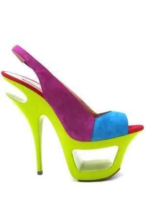 green gianmarco lorenzi shoes