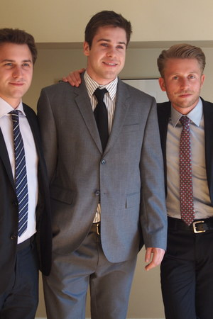 Club Monaco suit - Hugo Boss tie
