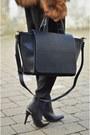 H-m-boots-h-m-coat-zara-bag-zara-pants