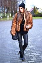 H&M jacket - venezia boots - H&M leggings