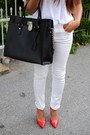 Michael-kors-bag-zara-heels-mango-blouse-h-m-pants