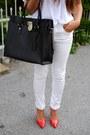 Michael-kors-bag-zara-heels-mango-blouse-h-m-pants