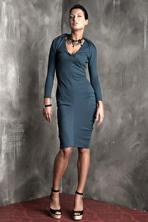 sleeves Agata Zabek Fashion dress
