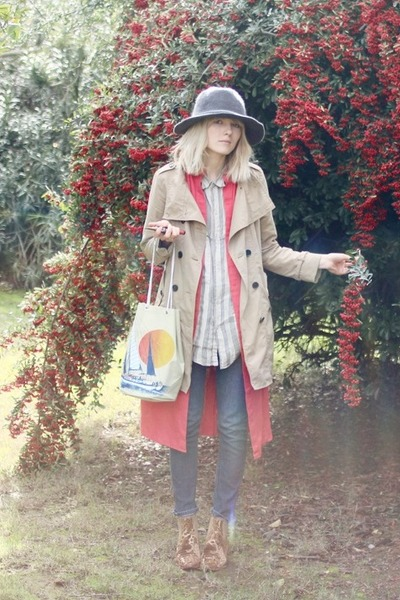 Gap jacket - Rodarte x Opening Ceremony boots - Anthro hat