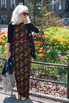 patent peach dieppa restrepo shoes - silky Deyrolle dress - Alexander Wang bag -