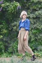 vintage top - tenoversix x vena cava shoes - Phillip Lim pants