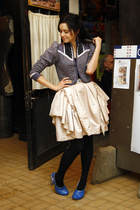 Irregular Choice London shoes - vintage from etsycom jacket - by Latvian designe