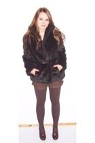 coat - shorts - boots