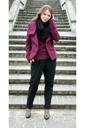 Top Shop jacket - sweater - Promod pants - Aldo shoes