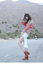 Love sweater - Jeffrey Campbell boots - free people dress