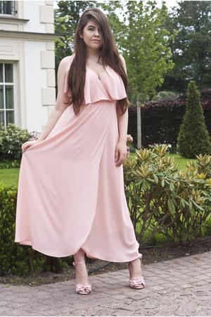 light pink Rosegal dress