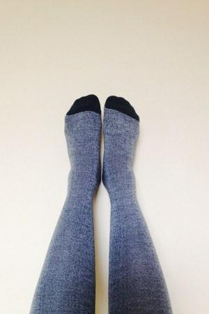 dark green cotton on socks