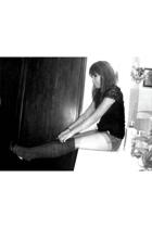 Macys socks - Macys top - Ruehl shorts