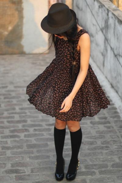 dress - hat - socks - shoes